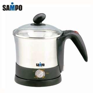 SAMPO 聲寶不鏽鋼美食鍋