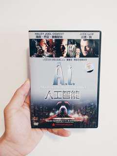 Artificial Intelligence DVD Movie [Code 3]