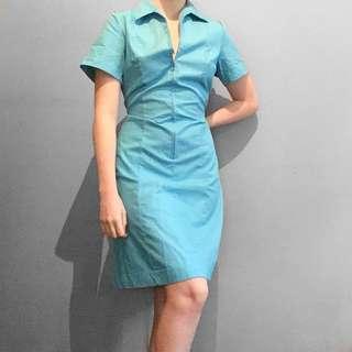 Legit 1960s collard dress.