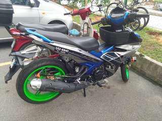 Yamaha y15 biru