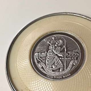 St Christopher Road Tax Disc Holder