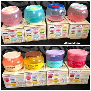 HK 7-11 sanrio lock n go Tupperware container box
