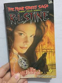R.L Stine! The betrayal