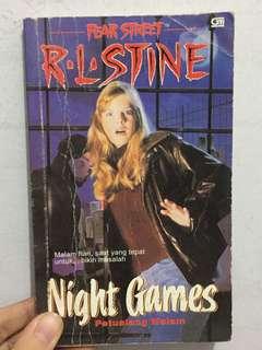 R.L Stine! Night Games