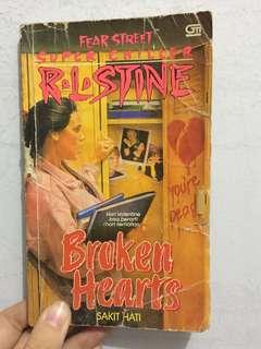 R.L Stine! Broken Heart