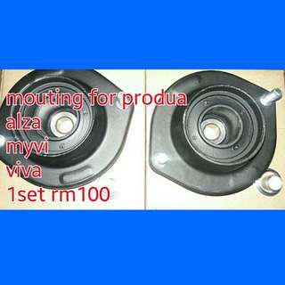 Mouting absorber
