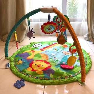 Fisher Price Jungle Gym Playmat