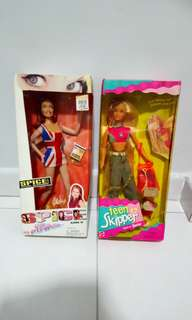 Spice Girl Geri and Teen Skipper