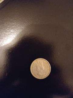 1958年女皇頭(5毫仔)