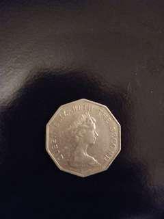 1976年5元硬幣