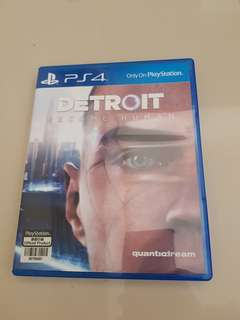 Used PS4 Detroit Become Human R All