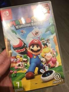 Switch Mario Rabbids Kingdom Battle