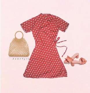 Alyana Wrap on Dress