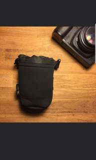 Instock Neoprene Camera Lens Pouch without logo