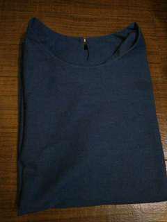 Navy blouse