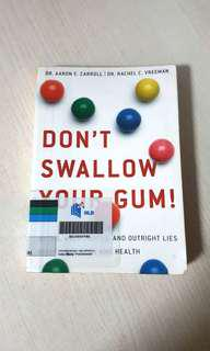 #tobless Don't Swallow Your Gum!
