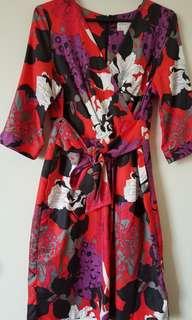 Multi colored women's dress