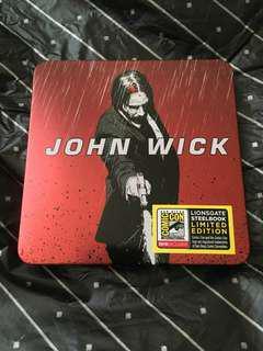殺神John Wick 美國 Comic Con Steelbook 鐵盒 全球限定1000隻 激罕