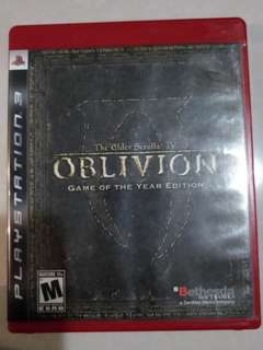 PS3 Oblivion (included 2 DLC)