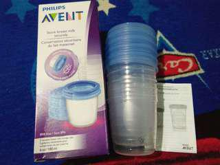 NEW!!!! AVENT Milk storage