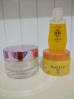 AHA Collagen moist & lift gel