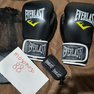 Boxing Glove & Hand Wrap