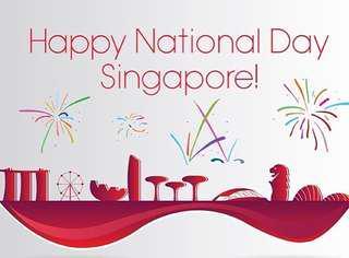 Happy 53 birthday Singapore sale!
