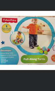 Fisher Price Pull Along Dog Toy