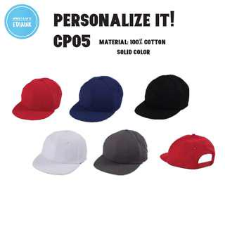 Customised Snapback Cap with name print - adjustable backing