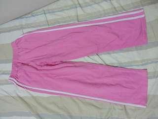 Winter Long Sport Pants trousers 女生粉紅色冬天長運動褲