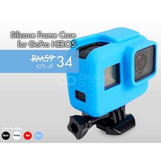 Silicone Frame Case for GoPro HERO5/6