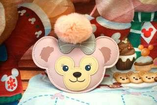 香港迪士尼Shelliemay皮革造型大頭鏡 / 吊飾 / 匙扣