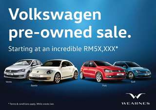 Volkswagen PRE REG Promotion!!!