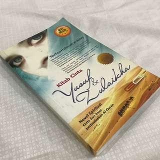 Novel Melayu Kitab Cinta Yusuf & Zulaikha