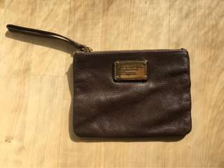 Marc by Marc Jacobs - Leather Classic Q Wristlet Clutch
