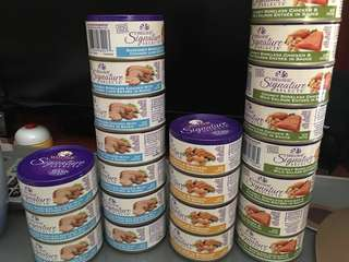 Wellness Signature selects cat can food