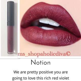 ❤️Authentic & LIMITED EDITION Authentic NOTION COLOURPOP - ULTRA MATTE FULL SIZE