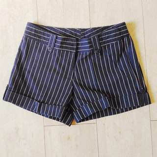 Navy Hot Pants