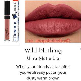 "❤️LAST 1 Authentic & LIMITED EDITION  ""WILD NOTHING"" COLOURPOP - ULTRA MATTE FULL SIZE"