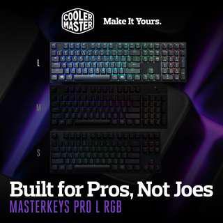 Cooler Master Masterkeys RGB PRO L