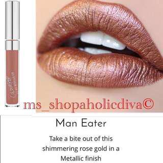 ❤️LAST 1 Authentic MAN EATER COLOURPOP - ULTRA METALLIC FULL SIZE
