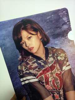 twice once begins jeongyeon l shape folder file instock