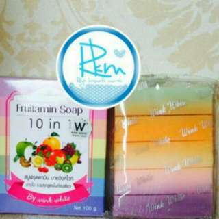 Fruitamin Soap Made In Thailand..best seller..!