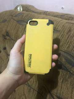 Case iphone 5 dual tek hardcase