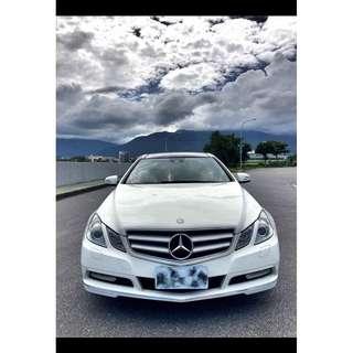2011年賓士E350 COUPE 雙門 全景天窗 全額貸款 AMG套件