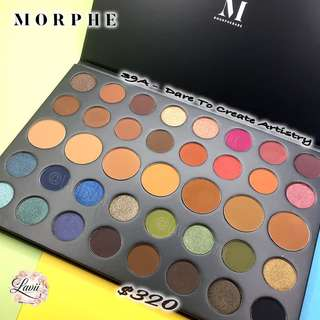 全店現貨💕Morphe Eyeshadow Palette - 39A Dare To Create Artistry🇺🇸