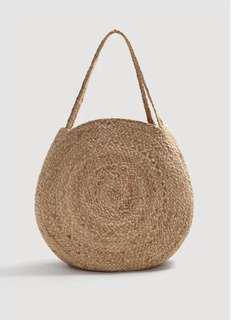 全新Mango草袋