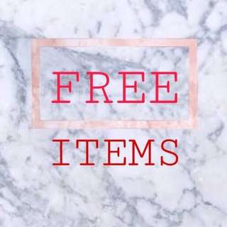 Swipe Left to See What's on Free Items💕