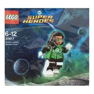 LEGO DC Super Heroes 30617 Green Lantern Jessica Cruz polybag
