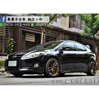 ▶FORD Focus 2.0S ⚡KING精品改裝 ⚡內裝氣氛一敗 ⚡運動RS套件◀ 中古車/二手車